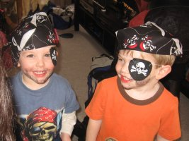 A pirate birthday party will make your child's dreams come true.